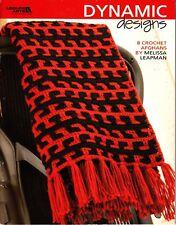Dynamic Designs by Melissa Leapman (2007, LA Crochet Afghan Booklet)