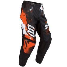 SHOT race gear CAPTURE motocross YOUTH pants size 28 orange A0F-11C1-A04-26