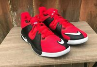 Nike Fly.By Mid Mens Size 8.5 Shoe Sneaker Basketball CD0189 600 Red Black