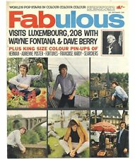 FABULOUS 208 Magazine 25 September 1965 Adrienne Francoise Hardy Wayne Fontana
