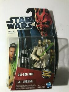 Star Wars Movie Heroes Qui-Gon Jin Grappling Hook Launcher New