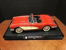 1/12 Solido 1958 Chevrolet Corvette Red With Box EM4268