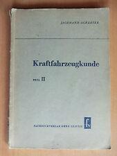 Jachmann Kraftfahrzeugkunde 1952 Kupplung Blatt-Feder Getriebe ZF Cotal Wilson