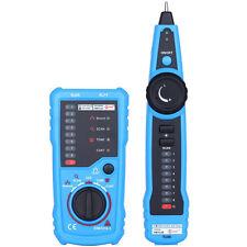 BSIDE FWT11 RJ11 RJ45 Wire Tracker Telephone Ethernet LAN Network Tester Detect