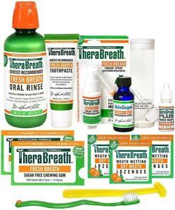 TheraBreath Fresh Breath Starter Kit 11 Piece Treatment For Fresh Breath!