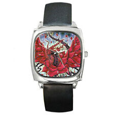 yugioh Black Rose DRagon leather wrist watch