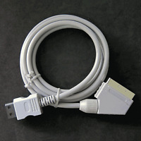 Wii SCART Stereo RGB Cable Real HD Cord Lead for (( PAL )) Nintendo Wii Console