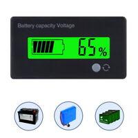 LCD Display Indicator Battery Capacity Voltage Monitor Tester Monitor 12V JA&