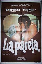 SONIA BRAGA, JOSE WILKER, La Pareja, 1sheet,1975, #10527