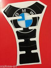 Paraserbatoio Resinato Sticker 3D BMW logo circle R 1200 gs r adventure
