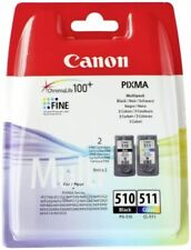 Canon PG-510/CL-511 Cartuccia Multipack - Nero, Ciano, Magenta, Giallo (2970B010)