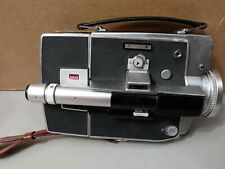 Vintage Super 8 Honeywell ELMO Dual Filmatic Zoom Lens Camera With Leather Case