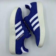 adidas Trimm Trab Blue Everton Liverpool Munchen #BD7628 Sneaker Mens Sz 7.5