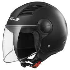 Ls2 Casque Moto Open Of562 Airflow Matt Noir Long M