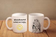 """Bluthund - ein Becher """"makes me happy"""" Subli Dog, CH"""