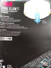 3M 10-Pack Cool Flow Valve Painting Sanding BRAND NEW - MADE in USA - FREE SHIP