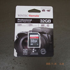 NEW Wintec Filemate 32GB SDHC Memory Card SD UPC 800953171358