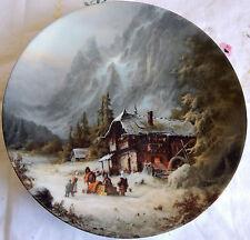 """""""Besuch des Warenhändlers"""" von Ludwig Muninger, Plate (1987, 7.75"""") Fürstenberg"""
