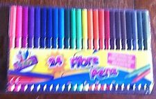 1 PACK OF 24 ARTBOX FIBRE PENS IDEAL FOR CRAFTING OR CARDMAKING