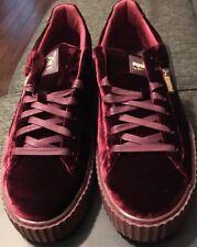 Puma Fenty By Rihanna Creepers Velvet Royal Purple 364639 02 Size 12 Men's Shoes