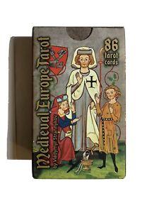 Medieval Europe Tarot Card Deck + Manual Book By Vladymyr Strannykov. MINT