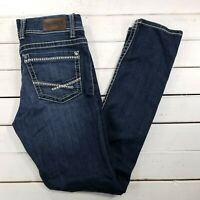 Buckle BKE Dakota Jeans Womens 28x32 Dark Wash Mid Rise Skinny Slim J279