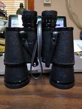 Vintage Carl Wetzlar10x50 Airforce Field 288@1000 Binoculars & Case #34