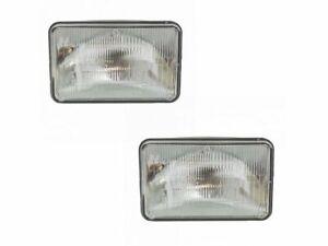 For 1982-1986 GMC K1500 Suburban Headlight Assembly Set 18167YX 1983 1984 1985