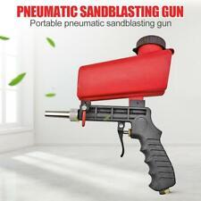 Portable Pneumatic Rust Blasting Handheld Sanding Gravity Sandblasting Gun Tools