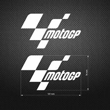 MOTO GP STICKER DIE CUT DECAL VINYL RACING 2 pcs