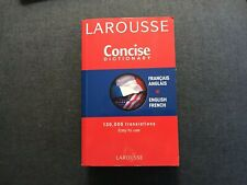Larousse Concise French-English/English-French Dictionary Paperback