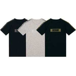 Tatami Essential BJJ Training T-Shirt Adult JiuJitsu Leisure Tee Mens Gym Top