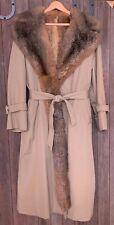 Womens Fur Lined Coat