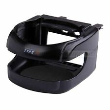 Black Clip-on Car Drink Holder Cup Bottle Can Holder New
