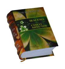 Iracema Cinco Minutos Jose de Alencar new hardcover Miniature Book in portuguese