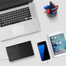 Vinsic 28000mAh 18650 Dual USB Portable Fast Charging Mobile Power Bank Black