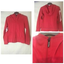 Bench Womens Red Cotton /Polyester Hoodie L(A140)