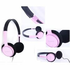 Sony MDR-222KD Childrens Student stereo Headphones Pink Color Refurbished