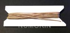 100 feet 1.8mm Tan Window Blind Cord, String - Horizontal & Roman Shades