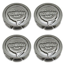 4- Chrysler 99-10 Sebring PT Cruiser 300 Aspen Wheel Center Caps Hubcaps