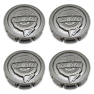 Center Caps Chrysler Sebring PT Cruiser 300 Aspen OEM Wheel Hubcaps 4782267