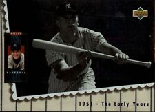 Mickey Mantle Baseball Cards