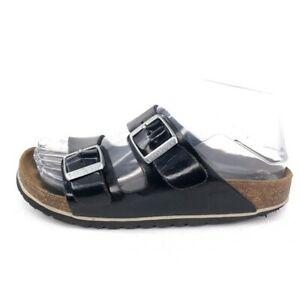 Birkenstock Arizona Footbed Sandals EUR 36 Womens Size 5 Black Patent Leather