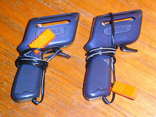 PAIR of AFX Tomy hand controllers, standard issue, AURORA ho car track