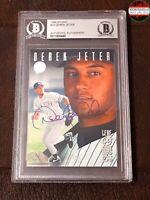 Derek Jeter autograph rookie card Population 1/1 Hall of Fame