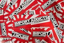 Import Addicts - Rising Sun Vinyl Sticker - JDM FRS R34 SUPRA RX7