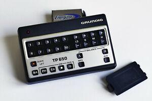 + Ultraschall Fernbedienung TP 650 + Musikanlage Grundig RPC 650 + Tele-Pilot +
