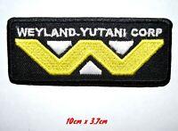 Alien Weyland-Yutani Corp Iron on Sew on Embroidered Patch#288
