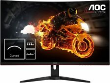 AOC Gaming C24G1 24zoll Full HD LED gebogen schwarz rot Computerbildschirm D