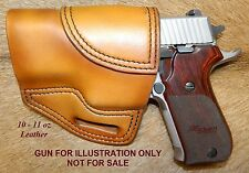 """Gary C's Avenger OWB Left Hand HOLSTER Sig Sauer P220 Carry 3.9"""" Heavy Leather"""